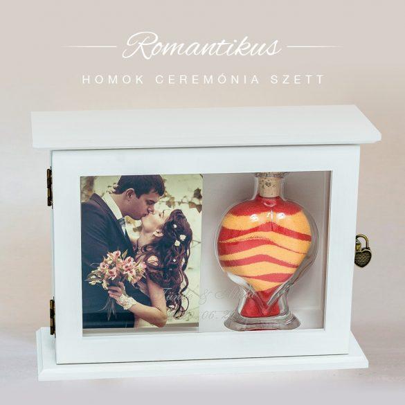 Esküvői homok ceremónia szett (romantikus)