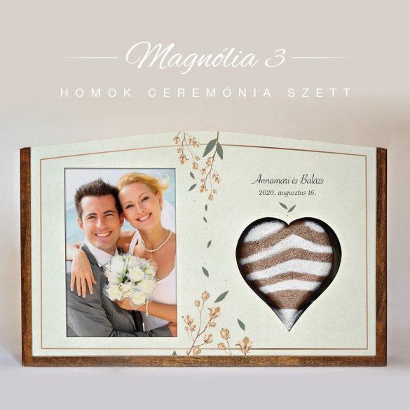 Homok ceremónia szett (Magnólia - világos)