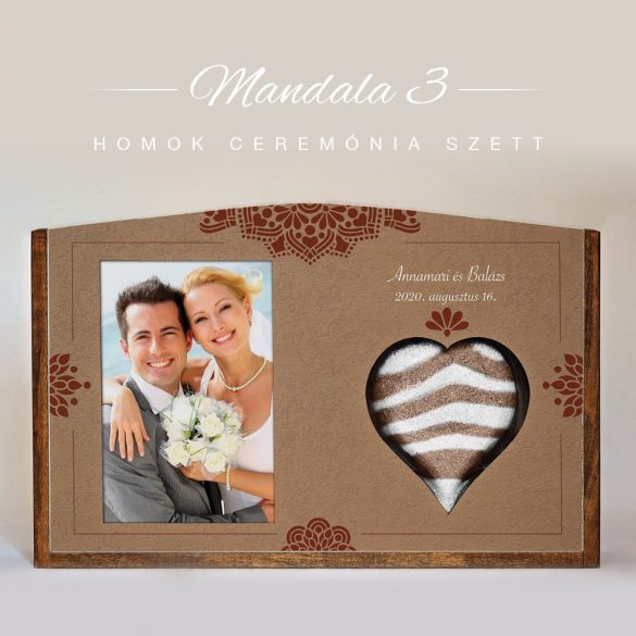 Homok ceremónia szett - Mandala 3