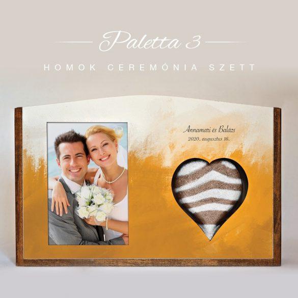 Homok ceremónia szett - Paletta 3