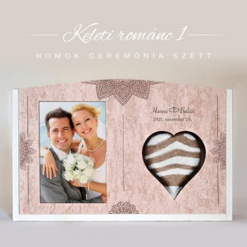 Homok ceremónia szett - Keleti románc 1