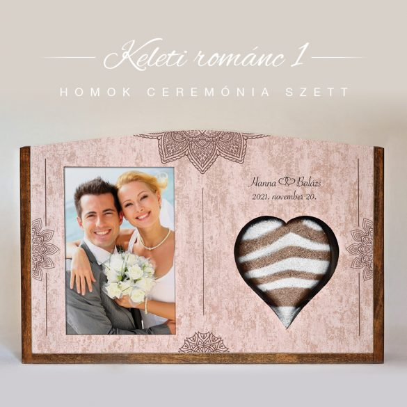 Homok ceremónia szett (Keleti románc 1)