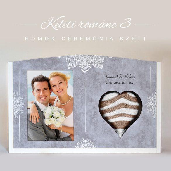 Homok ceremónia szett - Keleti románc 3