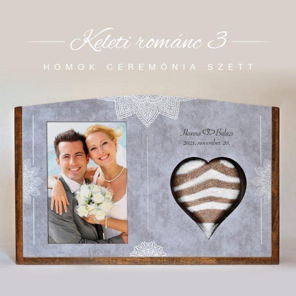 Homok ceremónia szett (Keleti románc 3)