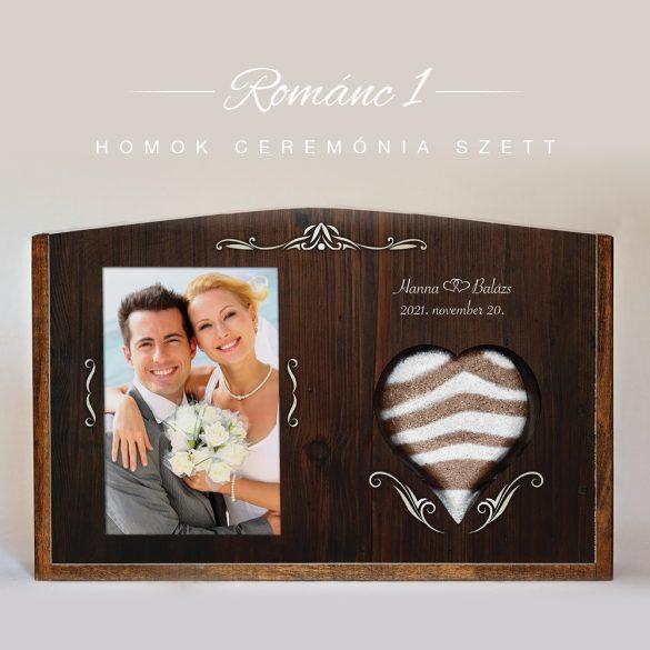 Homok ceremónia szett - Románc 1