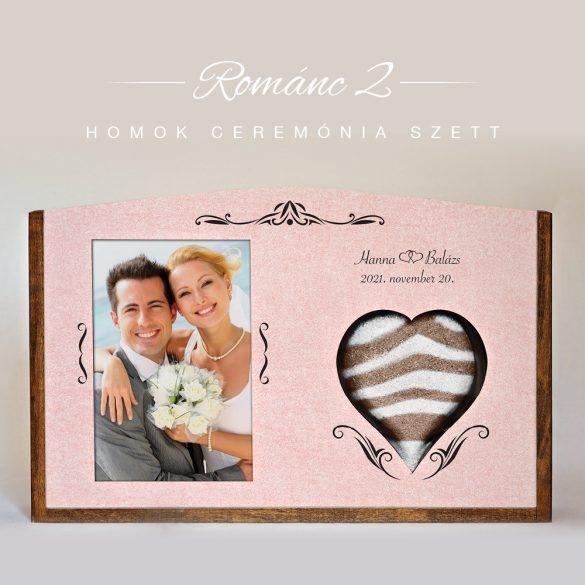 Homok ceremónia szett - Románc 2