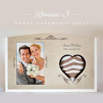 Homok ceremónia szett - Románc 3