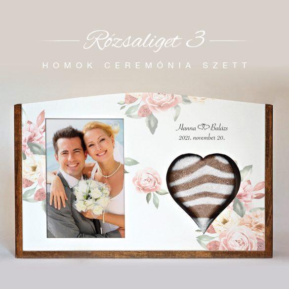 Homok ceremónia szett - Rózsaliget 3