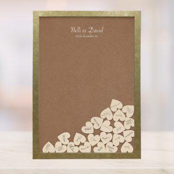 Szív bedobós képkeret - Alexa