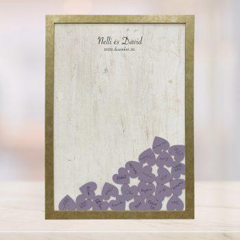 Szív bedobós képkeret - Dolli